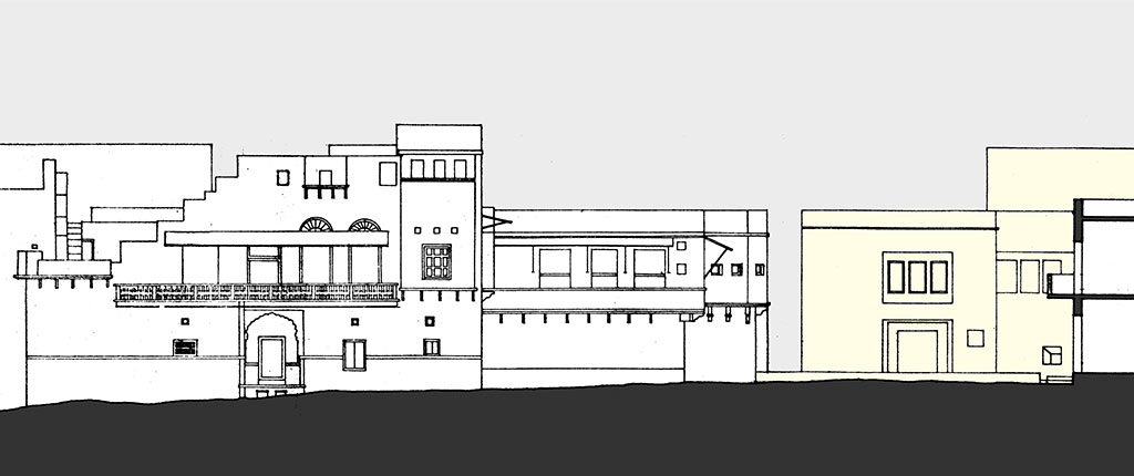 Front Elevation Of House In Rajasthan : Measured drawings of indian heritage